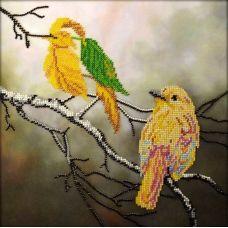 Набор для вышивания Осенняя иллюзия, 26x26, Вышиваем бисером