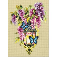 Набор для вышивания крестом Свет любви, 17x23, Чудесная игла
