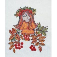 Набор для вышивания крестом Рябинка, 12x14, НеоКрафт