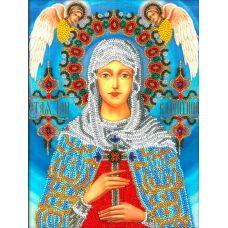 Набор для вышивания Святая Валентина, 19x26, Вышиваем бисером