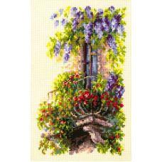 Набор для вышивания крестом Балкон возлюбленной, 15x23, Чудесная игла