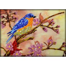 Набор для вышивания Весенний сюжет, 18x24,5, Вышиваем бисером