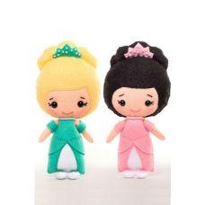 Набор для шитья куклы Эмма и Эльза, 13см, Тутти
