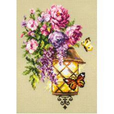 Набор для вышивания крестом Свет надежды, 17x23, Чудесная игла