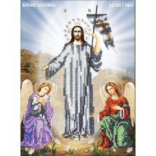 Схема Принт для вышивки бисером ПР905 Воскресение Христово, 19x26, Вышиваем бисером