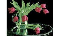 Алмазная мозаика Нежные тюльпаны, 60x55, полная выкладка, Jing Cai Ge