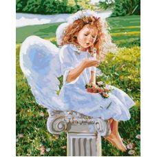 Живопись по номерам Сказочный ангел, 40x50, Paintboy, GX31186