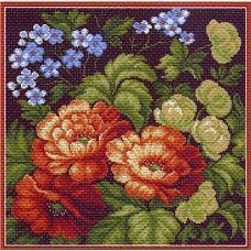 Набор для вышивания крестом Цветущее лето, 41x41 (34x34), Матренин посад