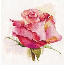 Набор для вышивания крестом Дыхание розы. Очарование, 24x24, Алиса