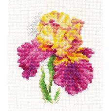 Набор для вышивания Ирис, 10x12, Алиса