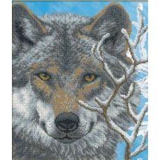 Набор для вышивания Волк, 31x26, Русская искусница