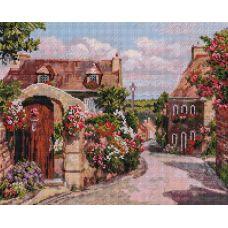 Алмазная мозаика Франция. Локронан, 40x50, полная выкладка, Белоснежка