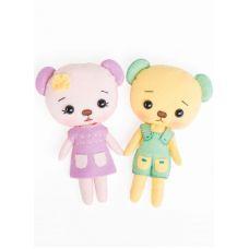 Набор для шитья куклы Лили и Санни, 15см, Тутти