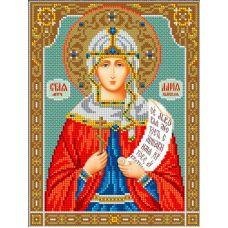 Набор для вышивания Святая Дарья, 20x26,5, Вышиваем бисером