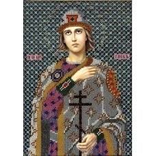 Набор для вышивания Святой Глеб, 19x27, Вышиваем бисером