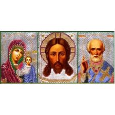 Набор для вышивания Иконостас, 27x12, Вышиваем бисером