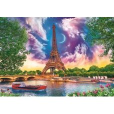Живопись по номерам Небо над Парижем, 40x50, Paintboy, GX30309