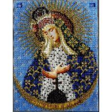 Набор для вышивания Богородица Остробрамская, 19x26, Вышиваем бисером