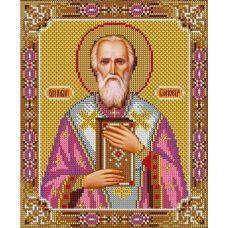 Набор для вышивания Святой Игнат, 20x24, Вышиваем бисером
