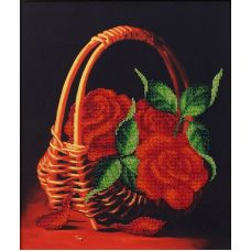 Набор для вышивания бисером Запах лета, 26,5x31, Магия канвы