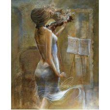 Живопись на холсте Ведущая скрипка, 40x50, Paintboy, GX7064