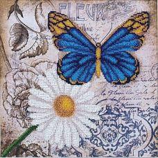 Набор для вышивания бисером Цветы любви 2, 26,5x26,5, Магия канвы