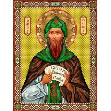 Набор для вышивания Святой Кирилл, 20x26,5, Вышиваем бисером