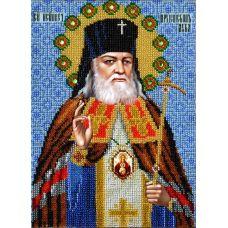 Набор для вышивания Святой Лука, 18,5x25,5, Вышиваем бисером