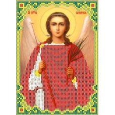 Набор для вышивания бисером Ангел Хранитель, 13x19, Каролинка
