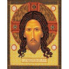 Набор для вышивания бисером Спас Нерукотворный, 19x25, Кроше