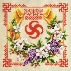 Набор для вышивания крестом Достаток и процветание, 26x26, Чудесная игла