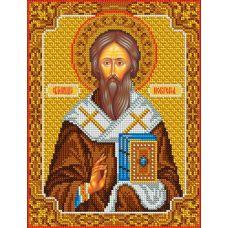 Набор для вышивания Святой Геннадий, 20x26,5, Вышиваем бисером