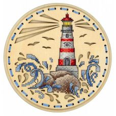 Набор для вышивания крестом Дыхание океана, 18x18, Щепка (МП-Студия)