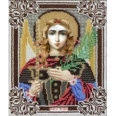 Набор для вышивания Святой Архангел Михаил, 18x22, Вышиваем бисером