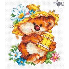 Набор для вышивания крестом Сладкоежка, 11x13, Чудесная игла