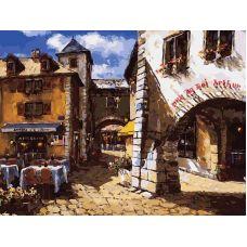 Живопись по номерам Старый город, 30x40, Белоснежка