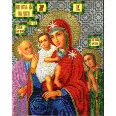 Набор для вышивания Богородица Трех радостей, 19x23, Вышиваем бисером