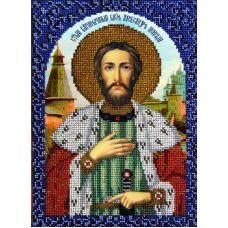 Набор для вышивания Святой Александр Невский, 18,5x26, Вышиваем бисером