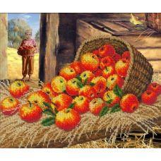 Набор для вышивания Яблочный Спас, 31x26, Русская искусница