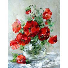 Живопись по номерам Красные маки, 40x50, Paintboy, GX27387