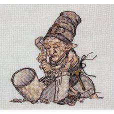 Набор для вышивания крестом Трубочных дел мастер, 13x13, НеоКрафт