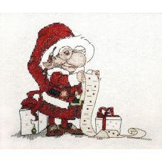Набор для вышивания крестом Список подарков, 14x18, НеоКрафт