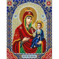 Набор для вышивания бисером Св. Богородица Иверская, 20x25, Паутинка