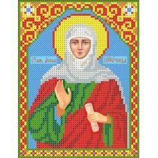 Набор для вышивания бисером Святая Анна, 13x18, Каролинка