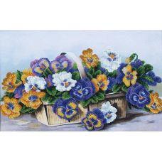 Набор для вышивания бисером Анюткино лукошко, 39,5x25, Магия канвы