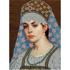 Набор для вышивания Дворянка, 26x36, Вышиваем бисером