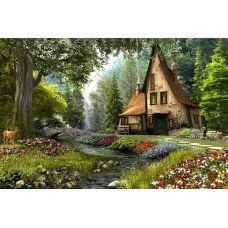 Живопись по номерам Сказочный домик, 40x50, Paintboy, GX3222