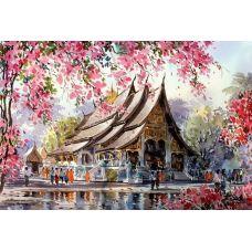 Живопись по номерам Тайский храм, 40x50, Paintboy, GX3259