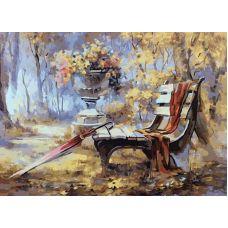 Живопись по номерам Время листопада, 40x50, Paintboy, GX7816