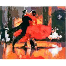 Живопись по номерам Фламенко, 40x50, Paintboy, GX8893